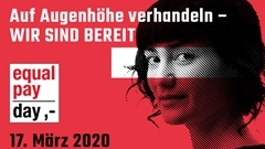 Equal Pay Day am 17. März 2020